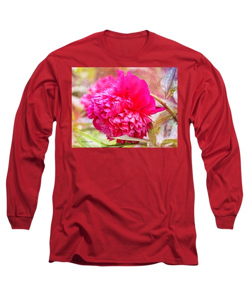 Red Haired Lady Long Sleeve T-Shirt