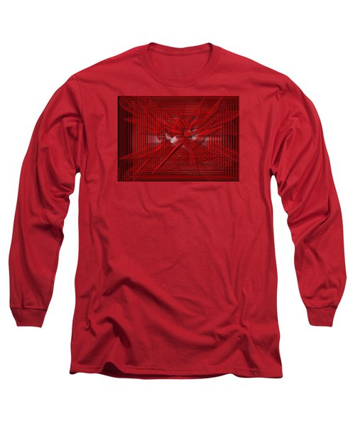 Red Heartwires Long Sleeve T-Shirt