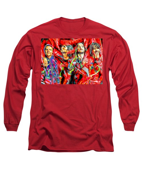 Red Hot Chili Peppers In Color II  Long Sleeve T-Shirt