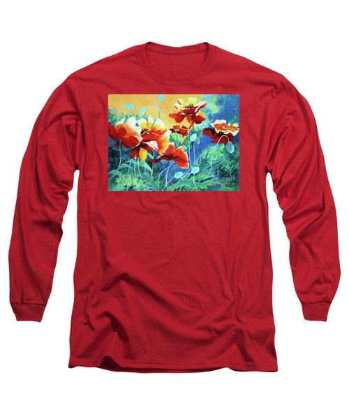 Red Hot Cool Blue Long Sleeve T-Shirt