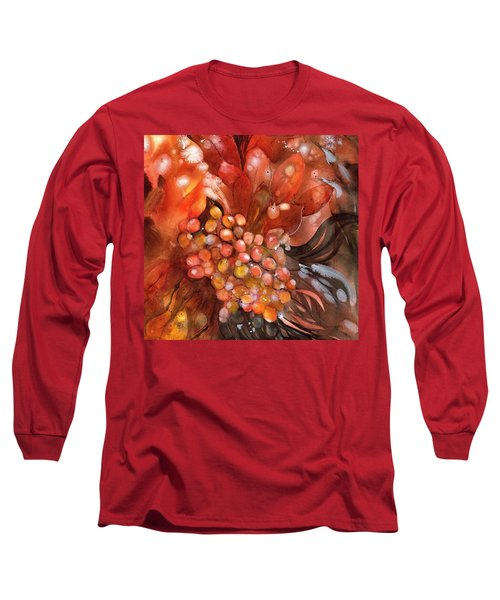 Red Hot Grapes Long Sleeve T-Shirt