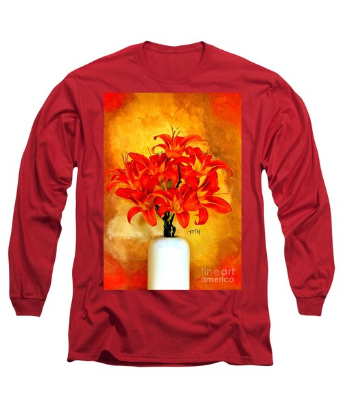 Red Hot Lilies Long Sleeve T-Shirt