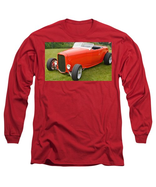 Red Hot Rod Long Sleeve T-Shirt