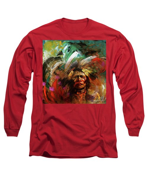 Red Indians 02 Long Sleeve T-Shirt