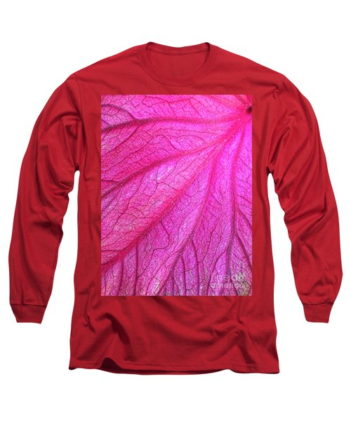 Red Leaf Arteries Long Sleeve T-Shirt