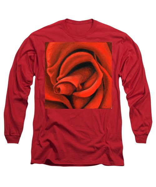 Red Lips Long Sleeve T-Shirt