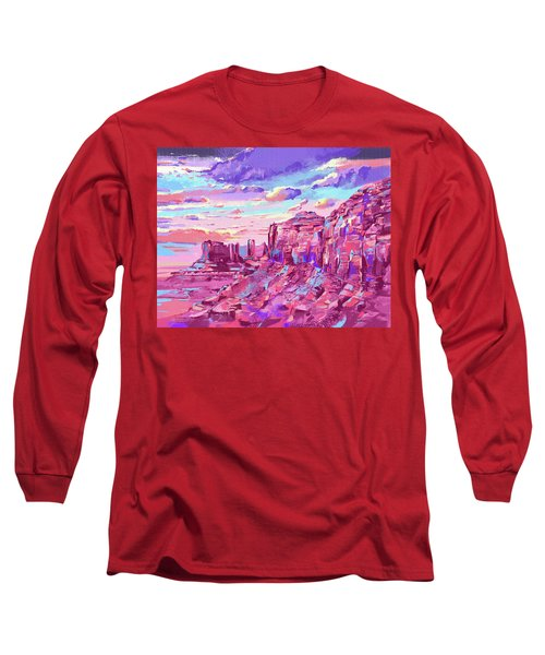 Red Mountains Long Sleeve T-Shirt
