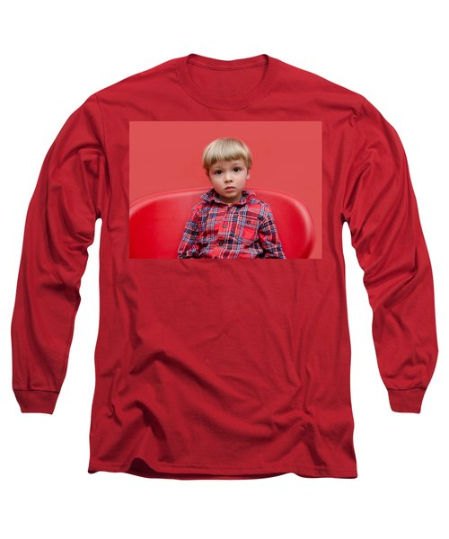 Red On Red Long Sleeve T-Shirt