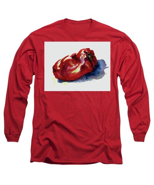 Red Pepper Long Sleeve T-Shirt