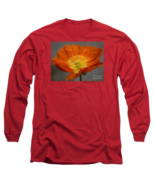 Red Poppy II Long Sleeve T-Shirt