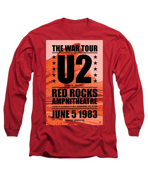 Red Rock Concert Long Sleeve T-Shirt by Gary Grayson