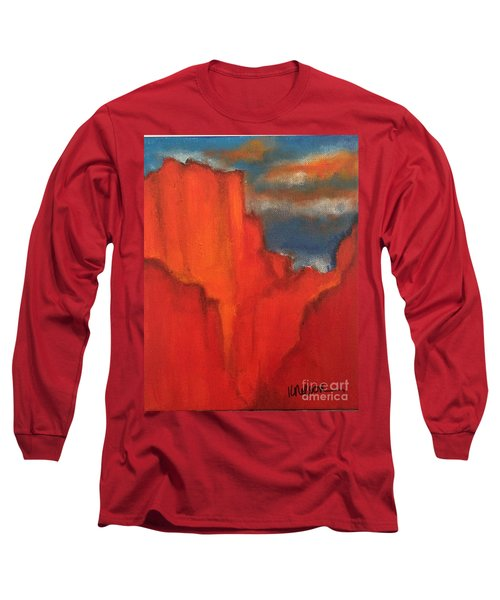 Red Rocks Long Sleeve T-Shirt by Kim Nelson