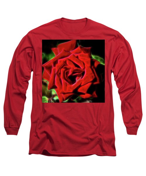 Red Rose 1a Long Sleeve T-Shirt