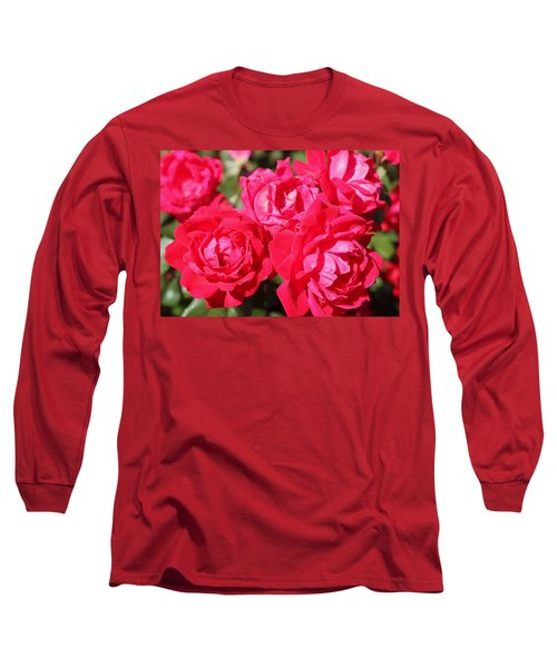 Red Roses 1 Long Sleeve T-Shirt