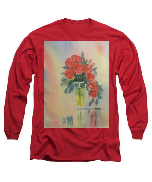 Red Roses For My Valentine Long Sleeve T-Shirt