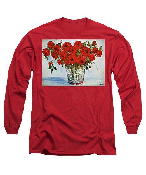 Red Roses Memories Long Sleeve T-Shirt