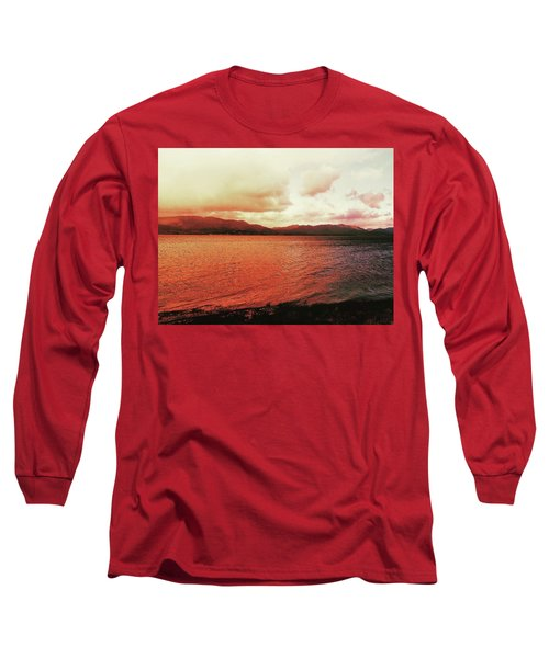 Red Sky After Storms  Long Sleeve T-Shirt