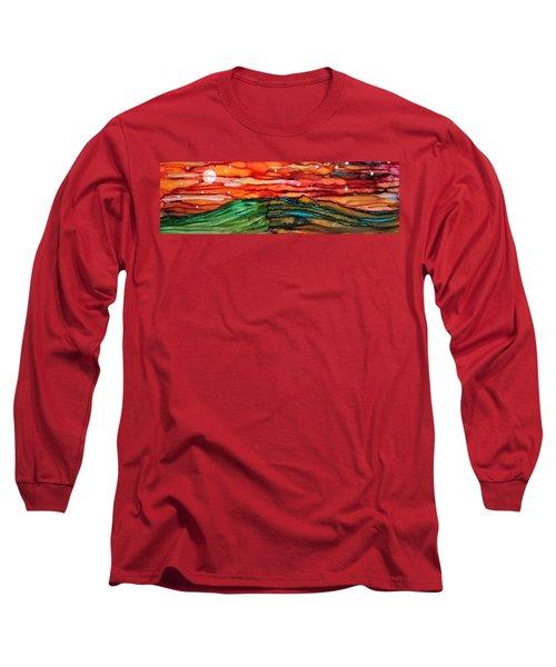 East Meets West Long Sleeve T-Shirt