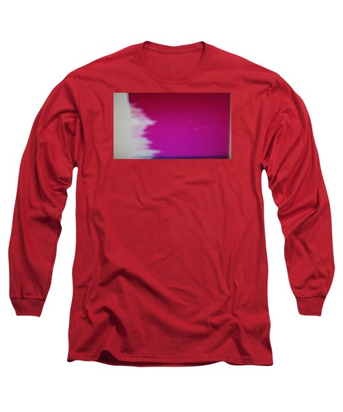 Long Sleeve T-Shirt featuring the painting Red Sky by Don Koester