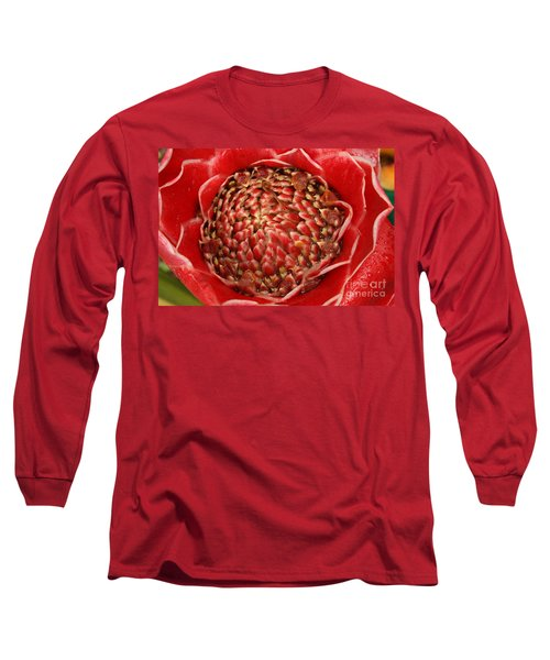 Red Torch Ginger 2 Long Sleeve T-Shirt