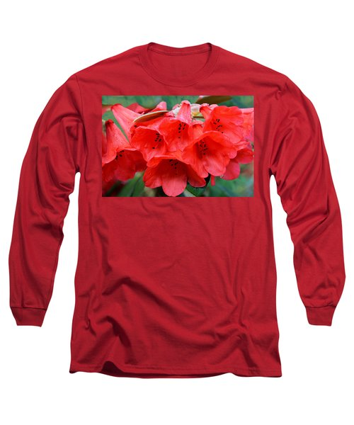 Red Trumpet Rhodies Long Sleeve T-Shirt