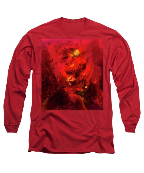 Red Universe Long Sleeve T-Shirt
