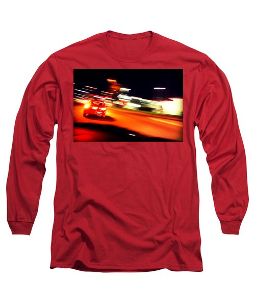 Red Vision Long Sleeve T-Shirt