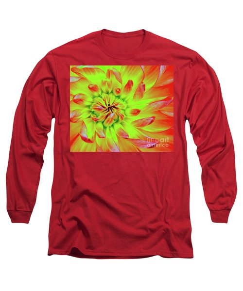 Red Whirl Long Sleeve T-Shirt