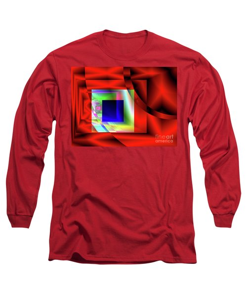 Red White And Blue 2 Long Sleeve T-Shirt