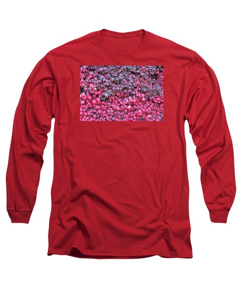 Red Wine Long Sleeve T-Shirt