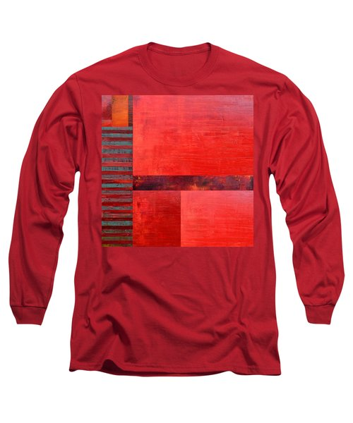 Red With Orange 2.0 Long Sleeve T-Shirt