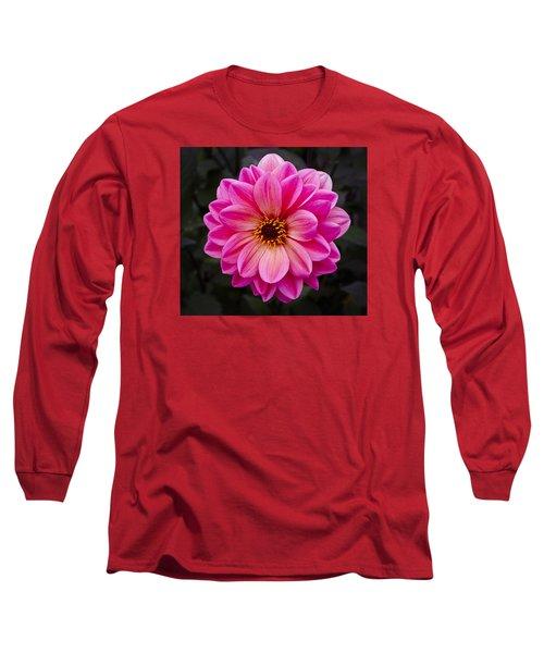 Reddish Dahlia Long Sleeve T-Shirt