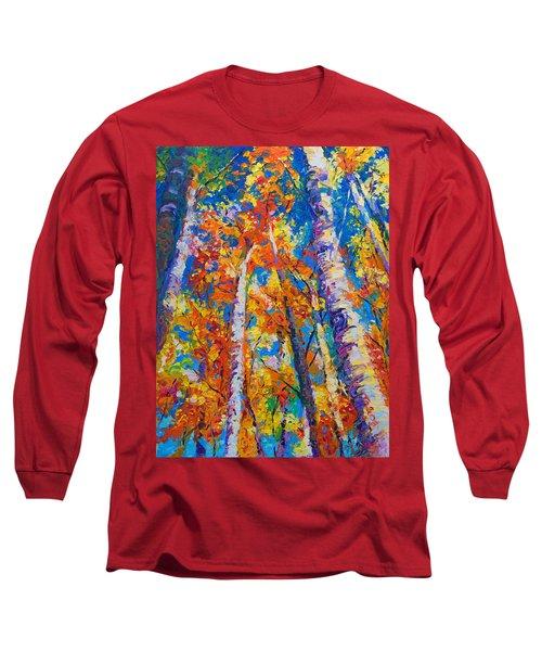 Redemption - Fall Birch And Aspen Long Sleeve T-Shirt