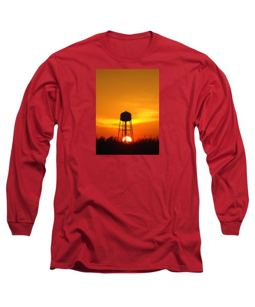 Redneck Water Heater For Whole Town Long Sleeve T-Shirt by J R Seymour