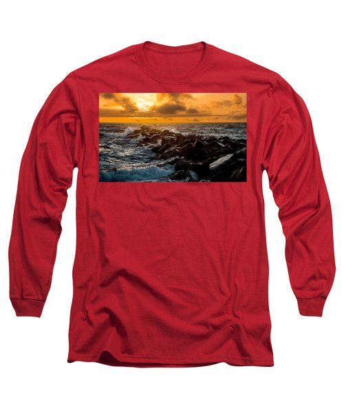 Redondo Beach Sunset Long Sleeve T-Shirt