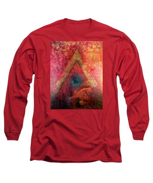Redstargate Long Sleeve T-Shirt by Ashley Kujan