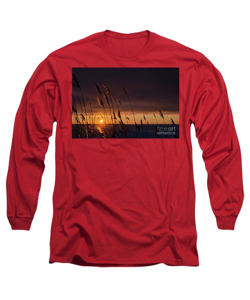 Reeds By Sunset Long Sleeve T-Shirt