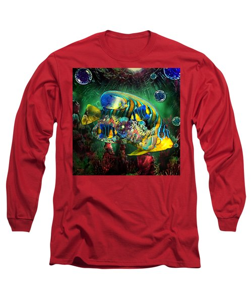 Reef Fish Fantasy Art Long Sleeve T-Shirt