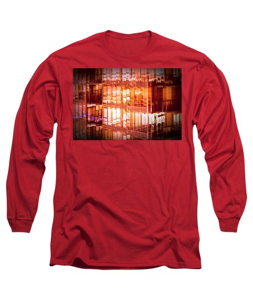 Reflectionary Phase Long Sleeve T-Shirt by Amyn Nasser