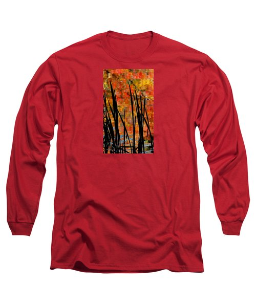 Long Sleeve T-Shirt featuring the photograph Reflections On Infinity by Angela Davies