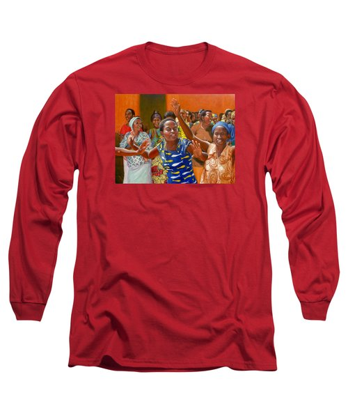 Rejoice Long Sleeve T-Shirt by Donelli  DiMaria