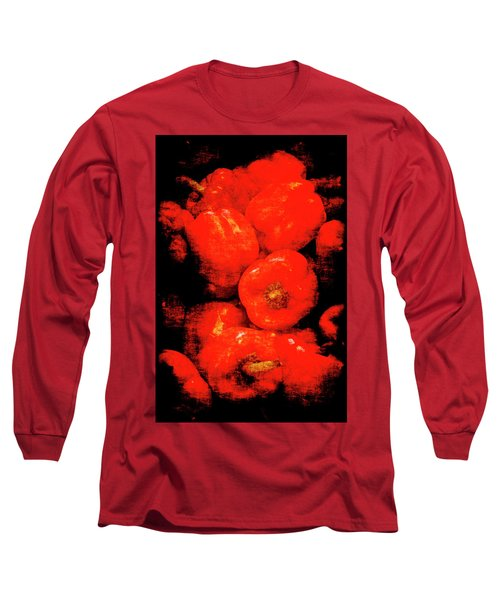 Renaissance Red Peppers Long Sleeve T-Shirt