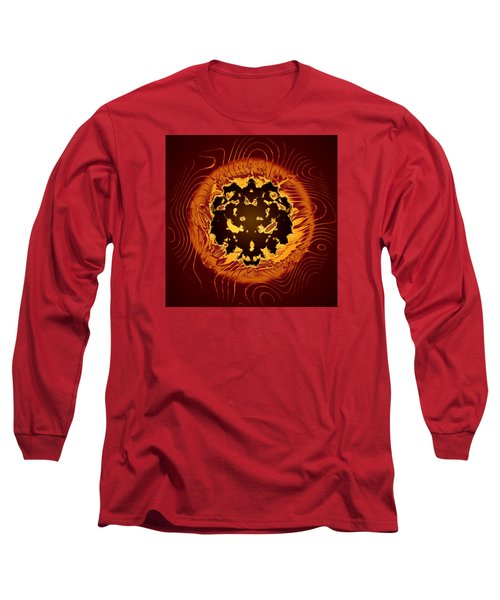 Long Sleeve T-Shirt featuring the digital art Resident Evil by Mario Carini