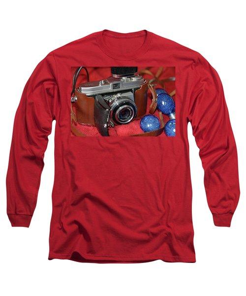 Long Sleeve T-Shirt featuring the photograph Retina by John Schneider
