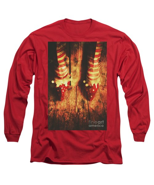 Retro Elf Toes Long Sleeve T-Shirt