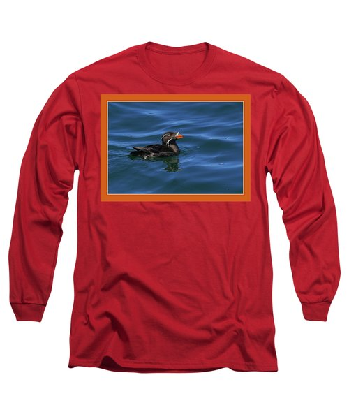 Rhinocerous Long Sleeve T-Shirt by BYETPhotography