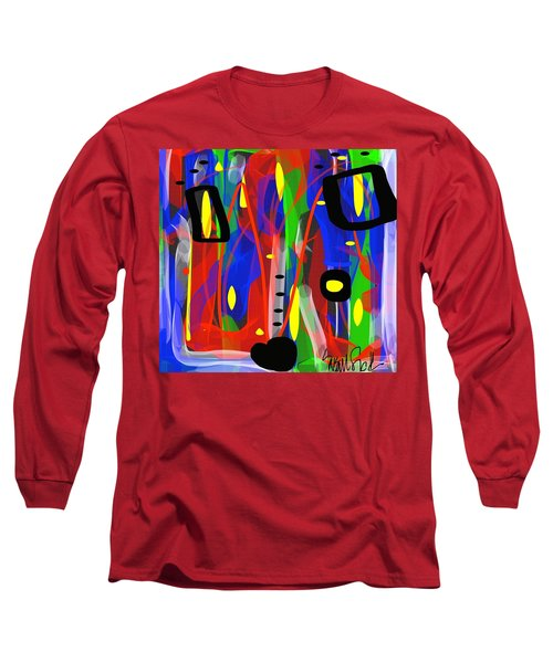 Ribbon Of Thought Long Sleeve T-Shirt