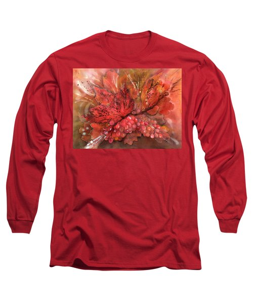 Rich Grape Harvest Long Sleeve T-Shirt