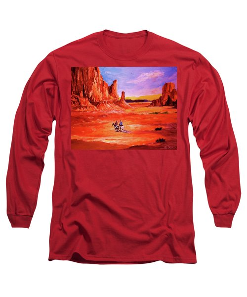 Riders In The Valley Of The Giants Long Sleeve T-Shirt