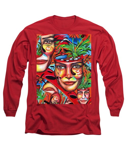 Ripening Of A Lucid Psyche Long Sleeve T-Shirt